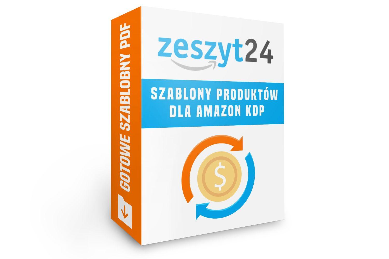 Zeszyt24 - Gotowe szablony produktów dla Amazon KDP w PDF